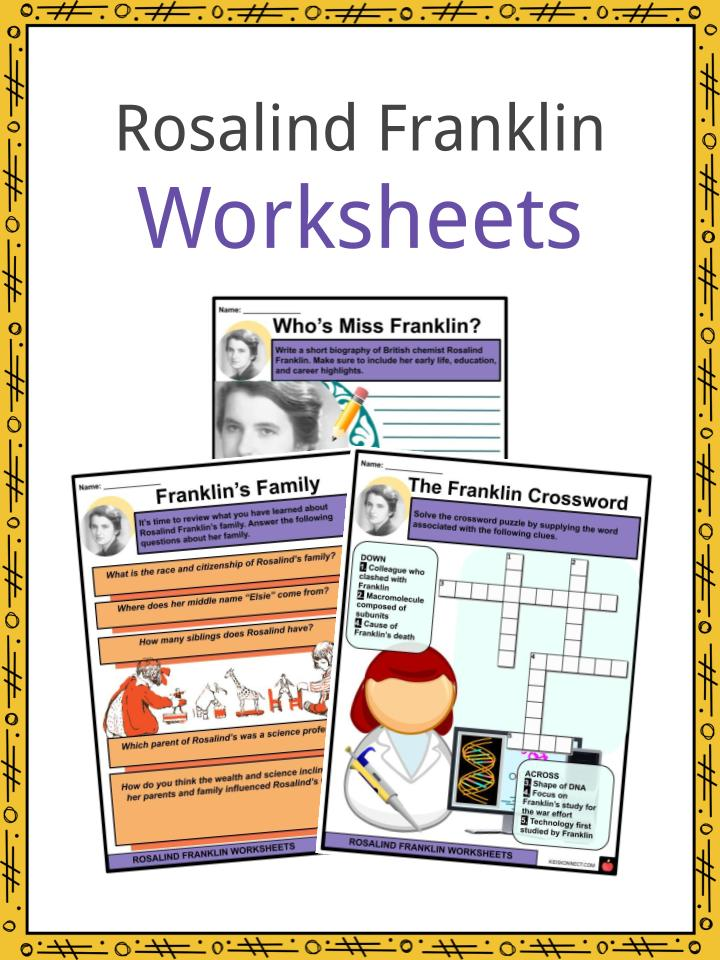 Rosalind Franklin Worksheets