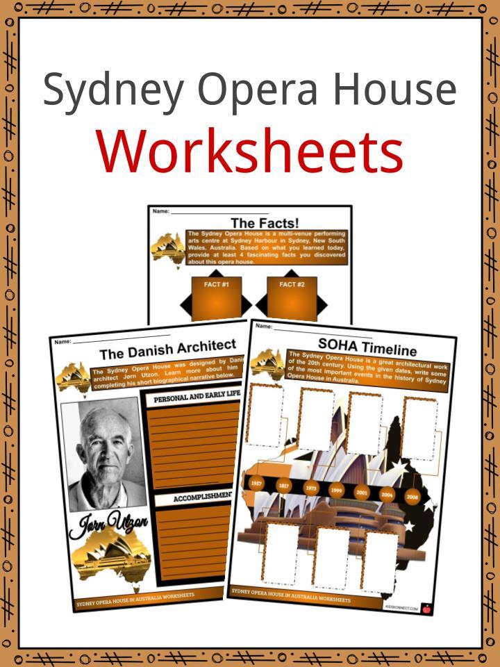 Sydney Opera House Worksheets