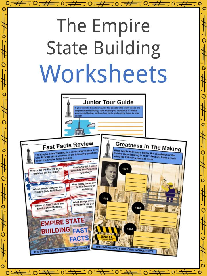 The Empire State Building Worksheets