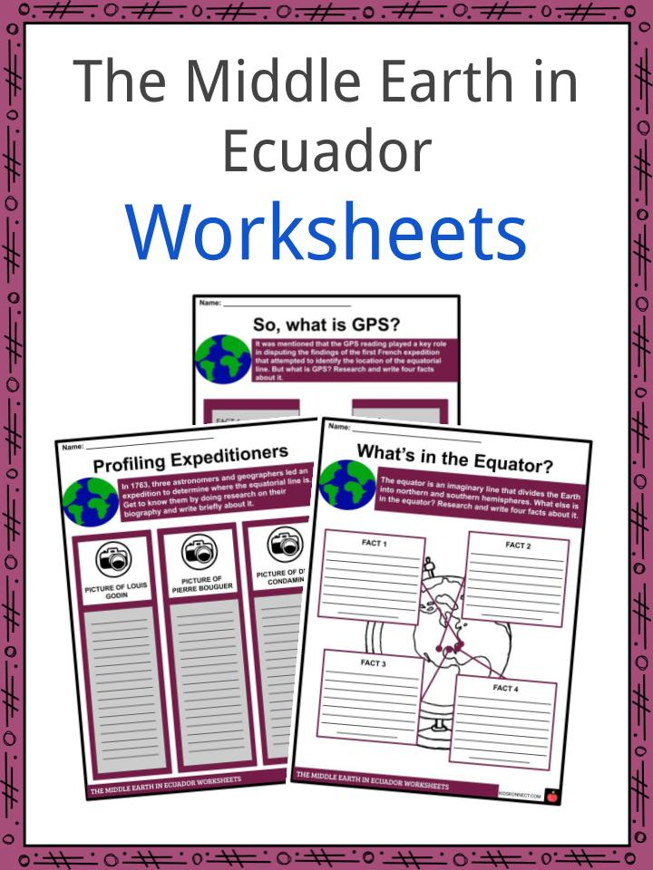 The Middle Earth in Ecuador Worksheet