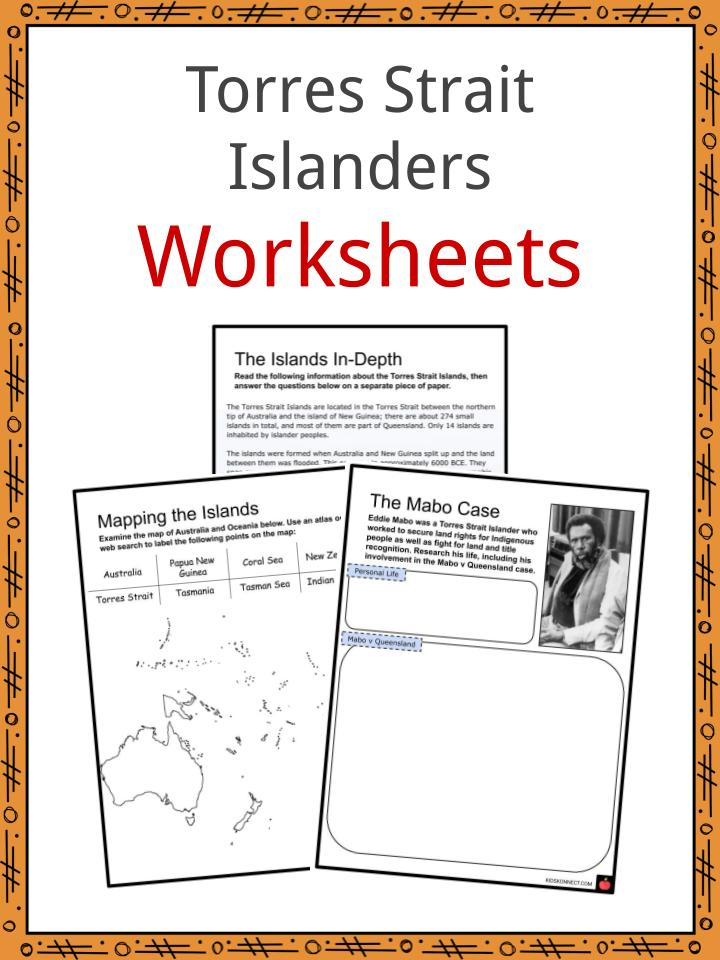 Torres Strait Islanders Worksheets