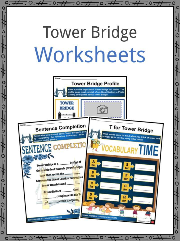 Tower Bridge Worksheets