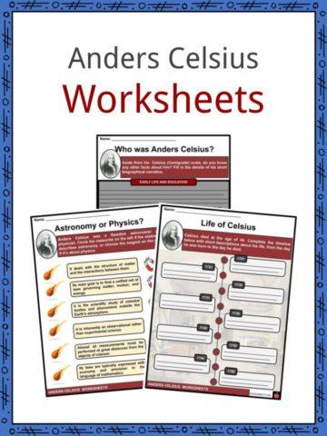 Anders Celsius Worksheets