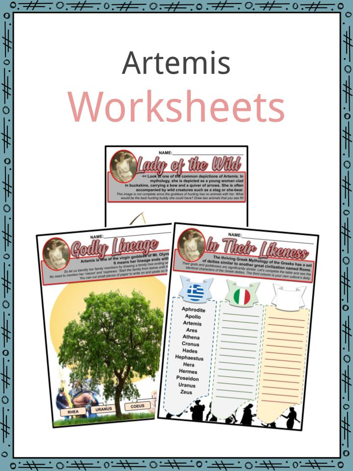 Artemis Worksheets