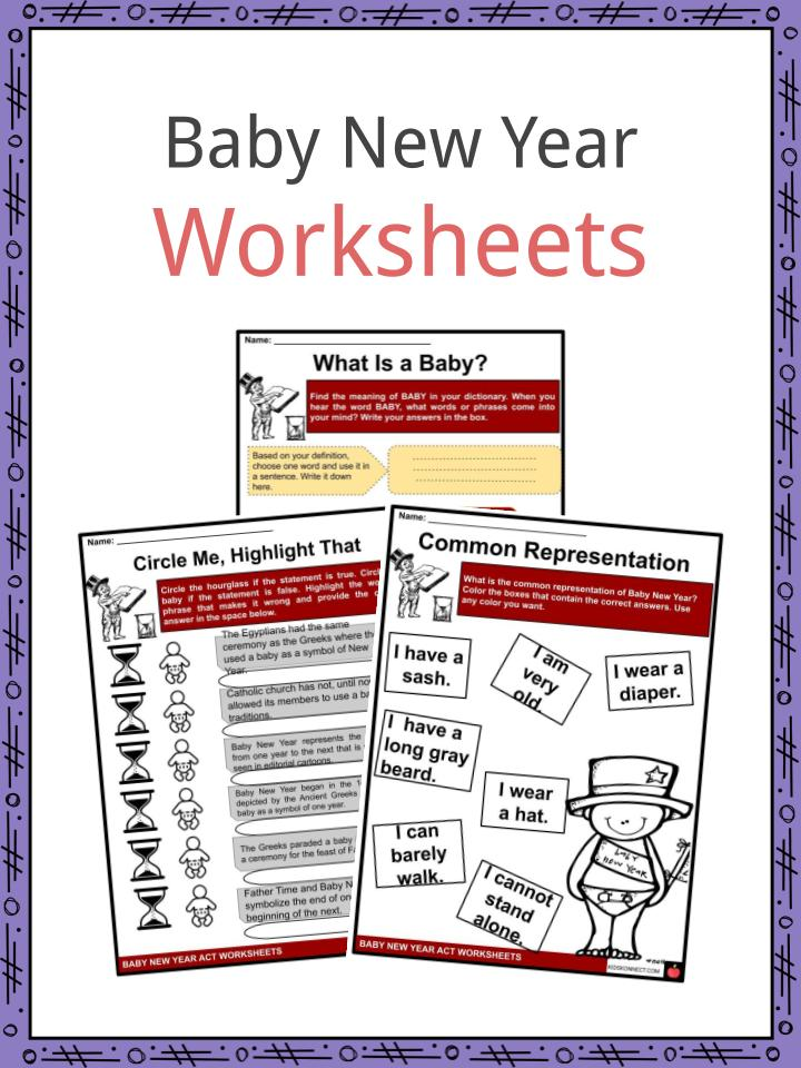 Baby New Year Worksheets