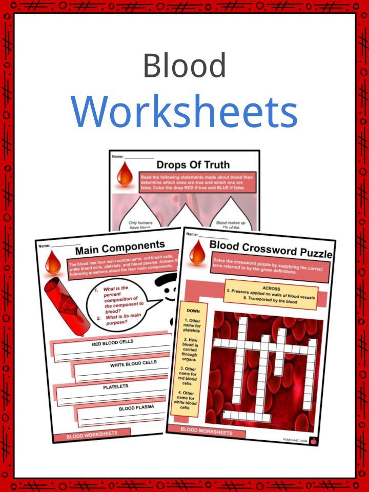 Blood Worksheets