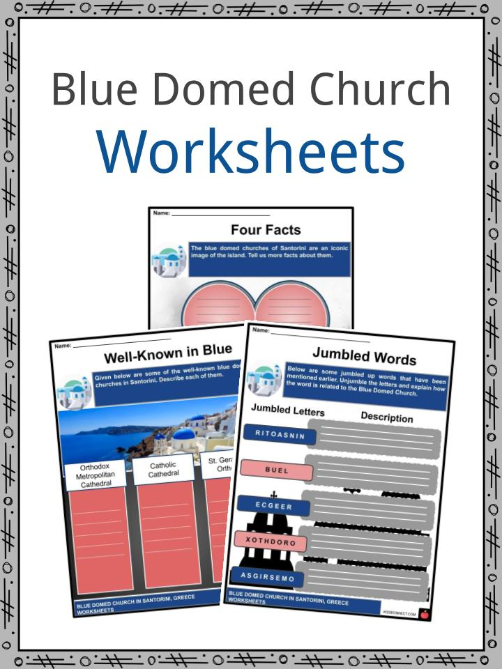 Blue Domed Church Worksheets