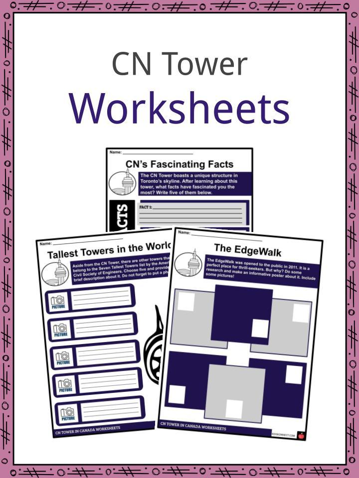 CN Tower Worksheets