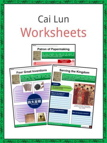 Cai Lun Worksheets