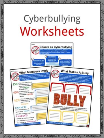 Cyberbullying Worksheets