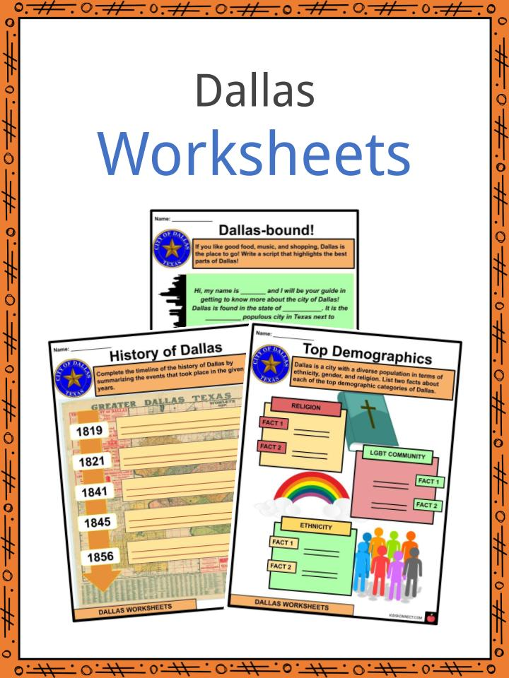 Dallas Worksheets
