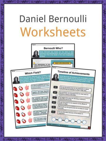 Daniel Bernoulli Worksheets