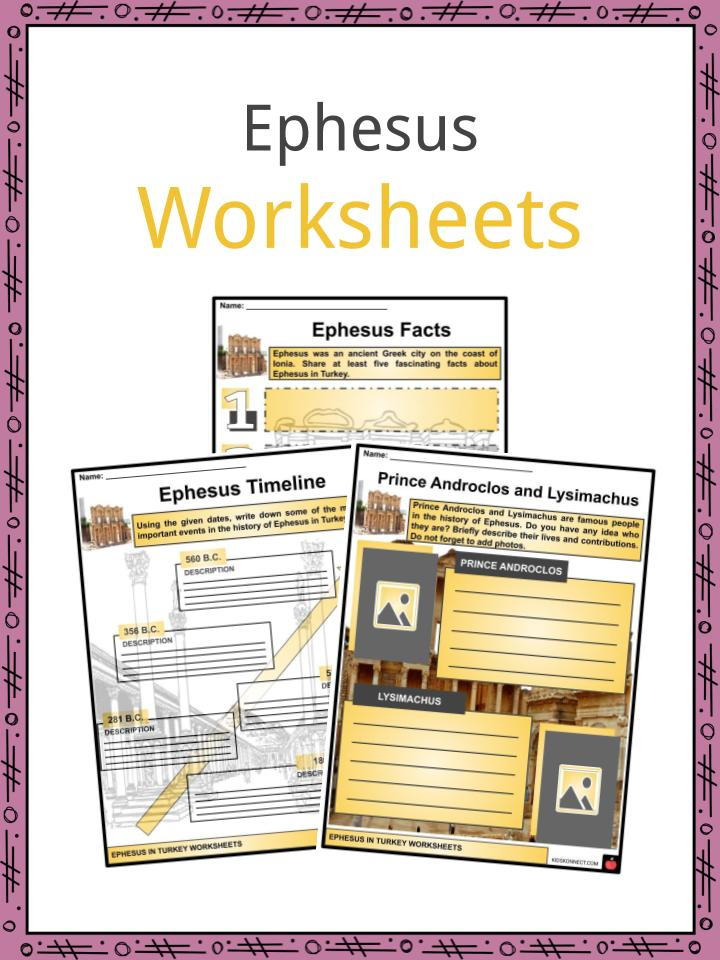 Ephesus Worksheets