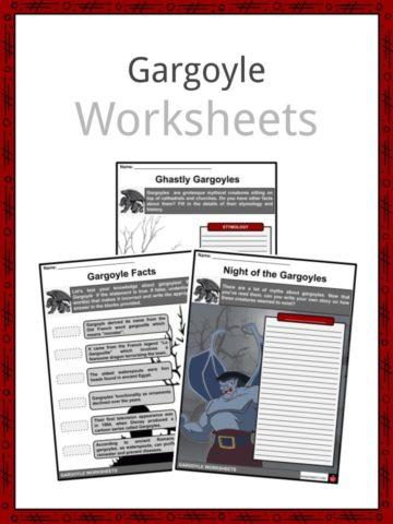 Gargoyle Worksheets