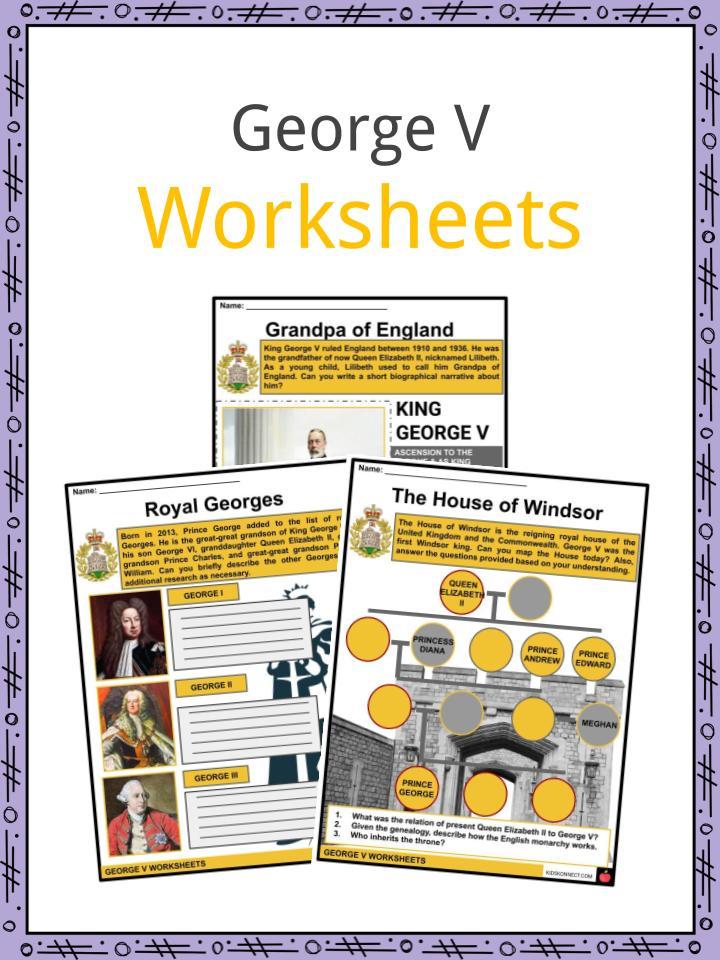 George V Worksheets