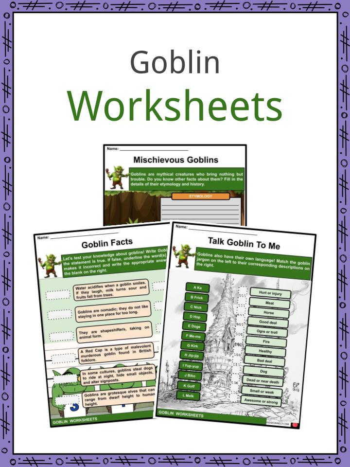 Goblin Worksheets