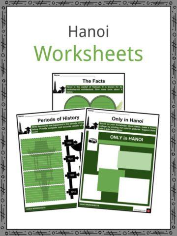 Hanoi Worksheets