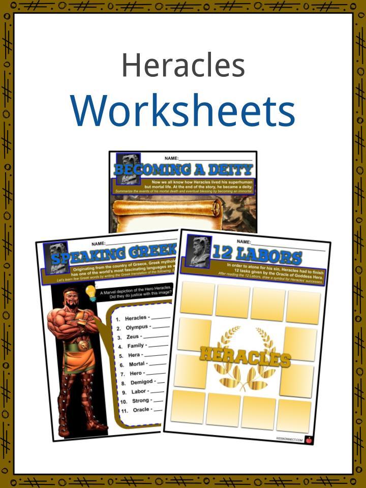 Heracles Worksheets