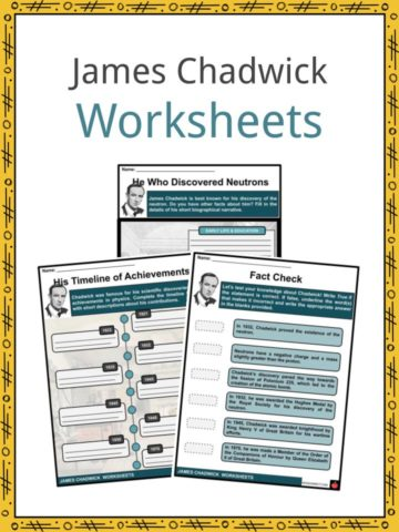 James Chadwick Worksheets