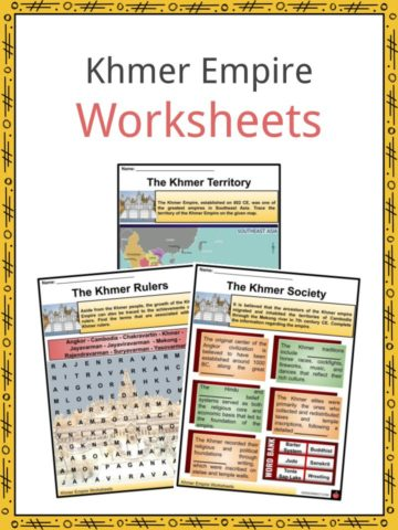 Khmer Empire Worksheets