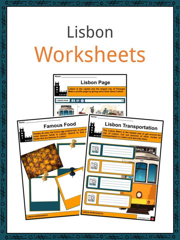 Lisbon Worksheets