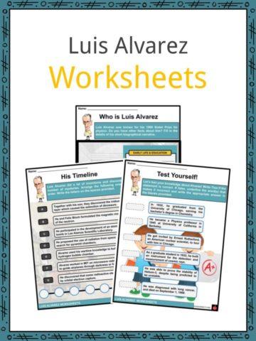 Luis Alavarez Worksheets