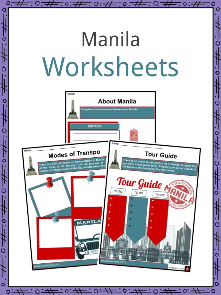 Manila Worksheets