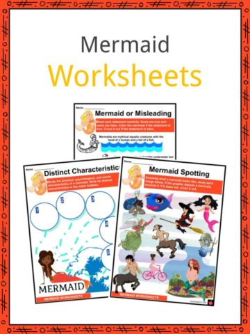 Mermaid Worksheets