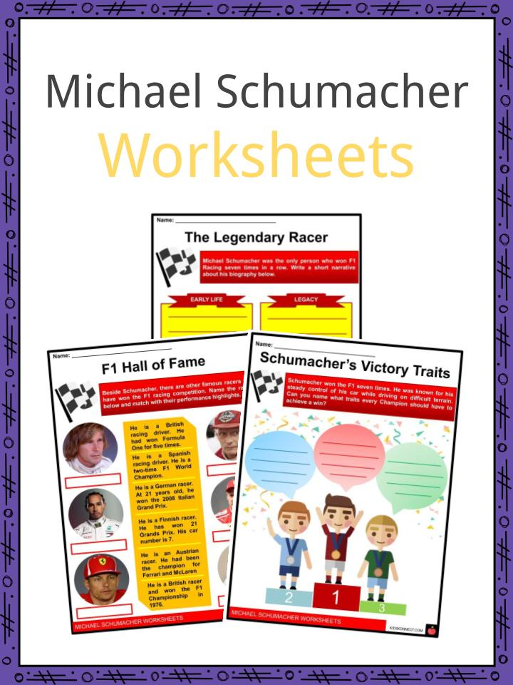 Michael Schumacher Worksheets