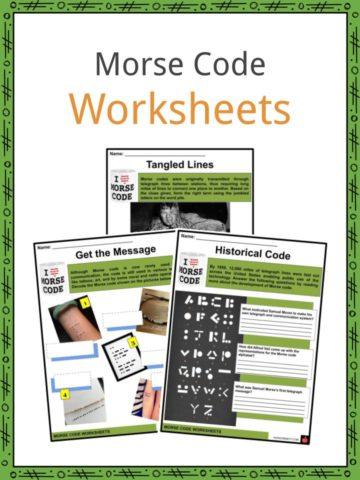 Morse Code Worksheets