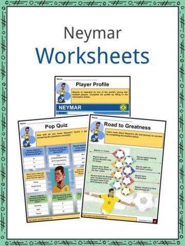 Neymar Worksheets