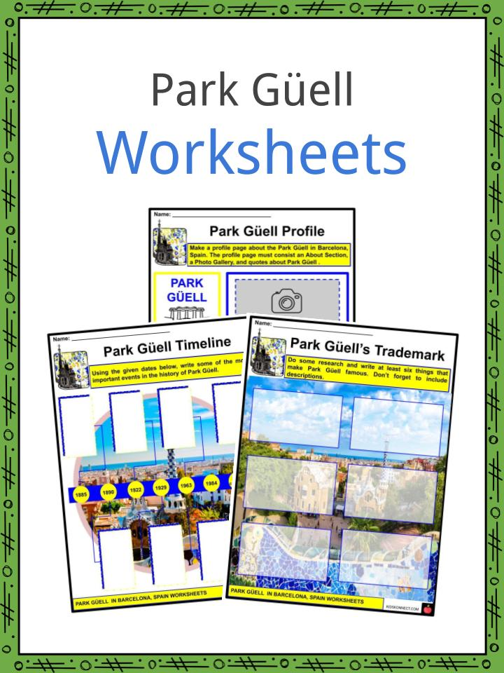 Park Güell Worksheets