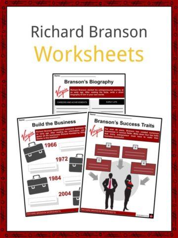 Richard Branson Worksheets