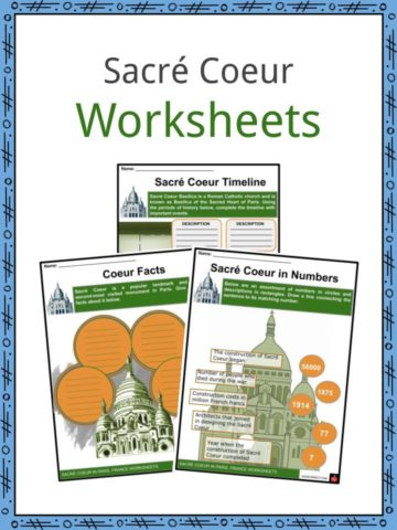 Sacré Coeur Worksheets