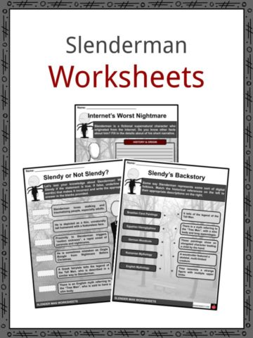 Slenderman Worksheets