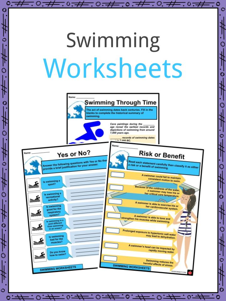 Swimming Facts, Worksheets & History For Kids