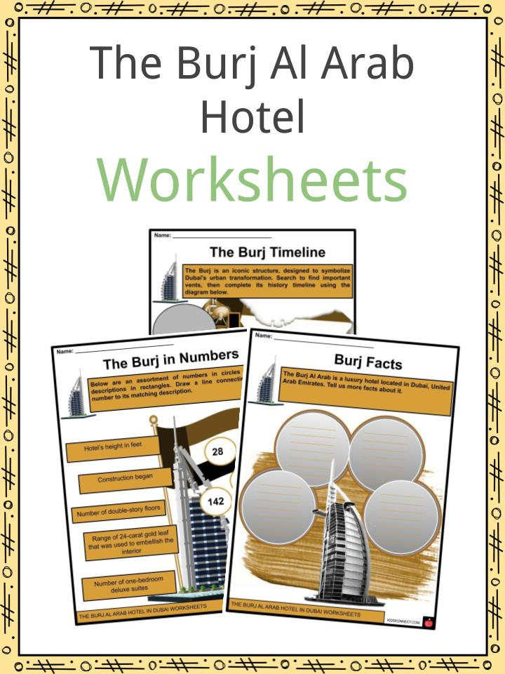 The Burj Al Arab Hotel Worksheets