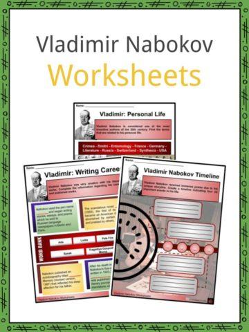 Vladimir Nabokov Worksheets