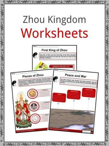 Zhou Kingdom Worksheets
