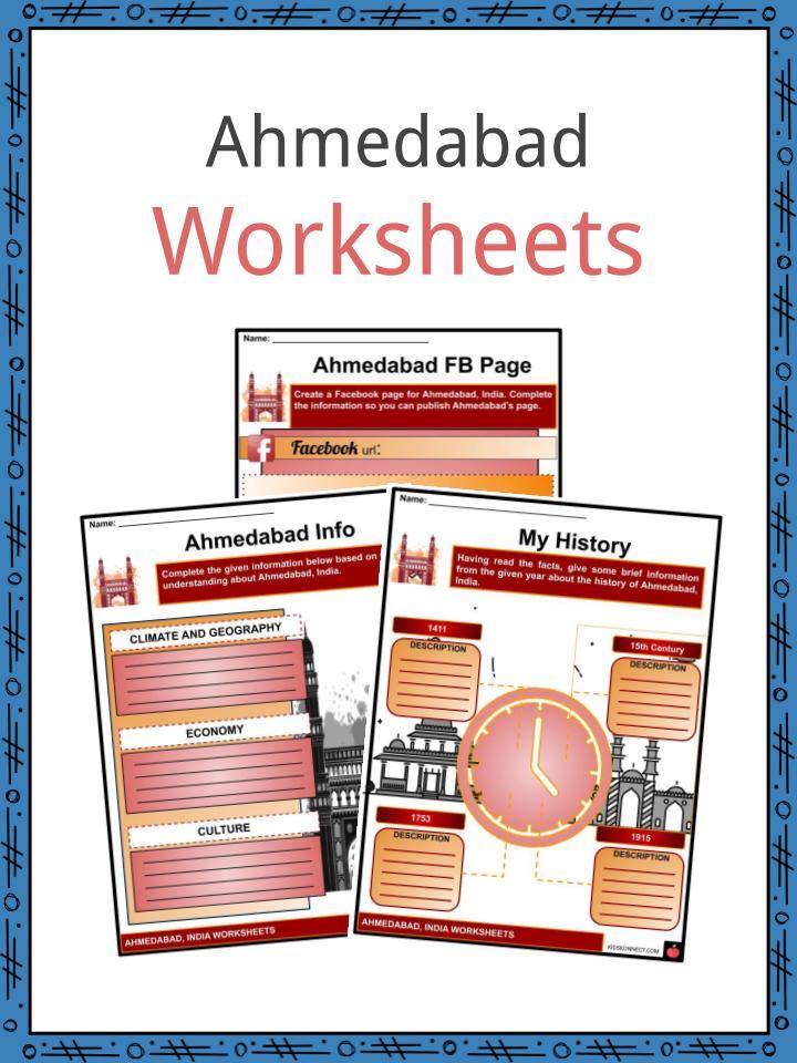 Ahmedabad Worksheets