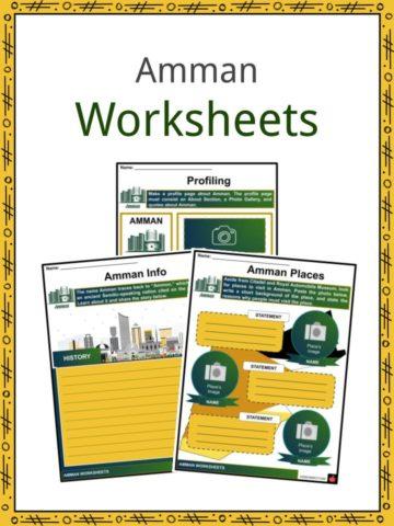 Amman Worksheets