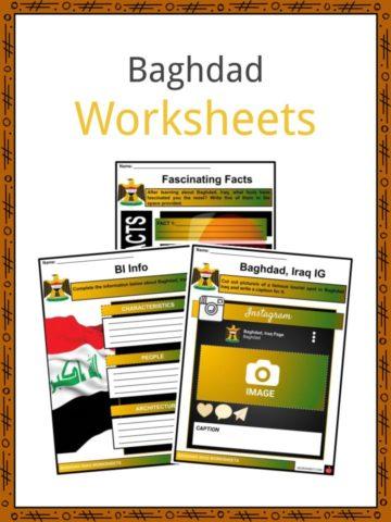 Baghdad Worksheets