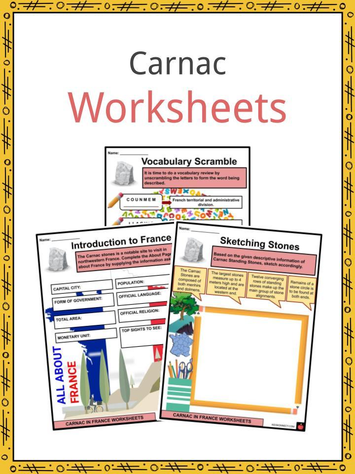 Carnac Worksheets