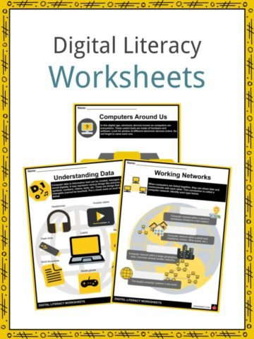 Digital Literacy Worksheets