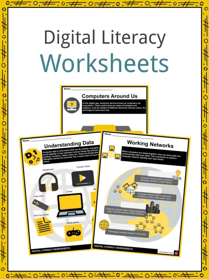 Digital Literacy Worksheets