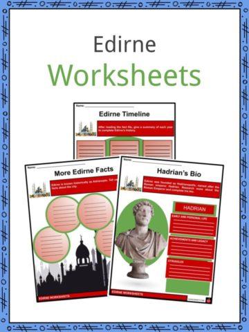 Edirne Worksheets