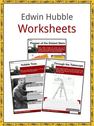 Edwin Hubble Worksheets
