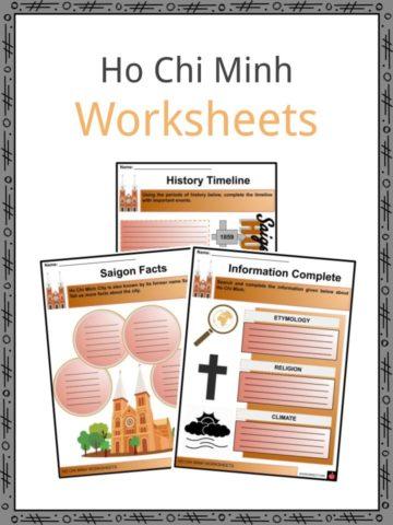 Ho Chi Minh Worksheets