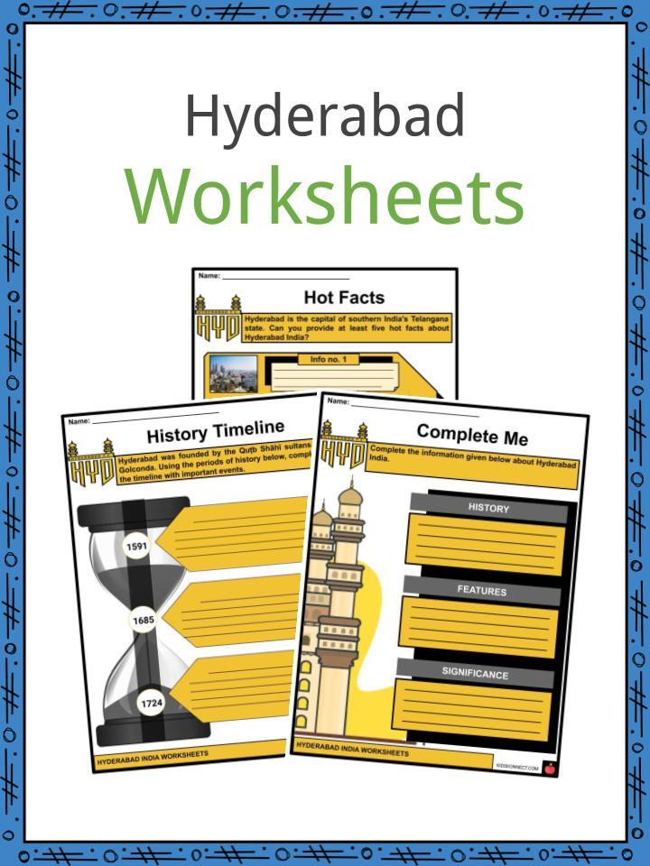 Hyderabad Worksheets