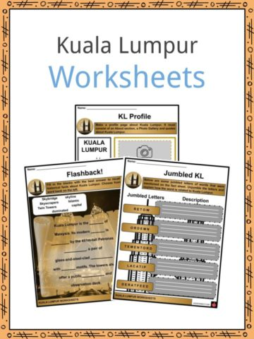 Kuala Lumpur Worksheets